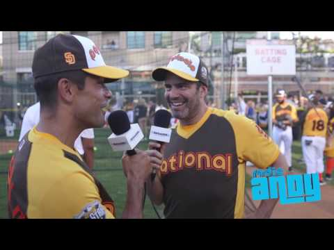 Andy Cohen -  2016 MLB Celebrity Softball Game // SiriusXM // Radio Andy