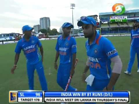 India enters Tri-nation series finale