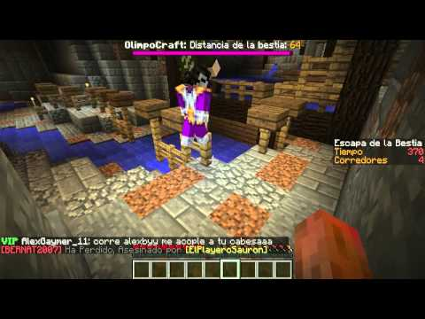 MI PRIMER PARKOUR Minecraft La Bestia con Willy y Vegetta
