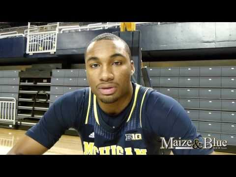Zak Irvin discusses early Michigan experience