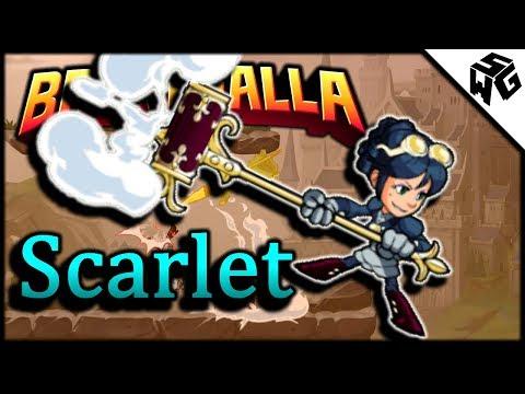 Diamond Ranked Scarlet 1v1's - Brawlhalla Gameplay :: Good O'l Lance!
