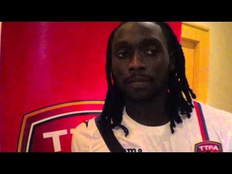 Kenwyne Jones and Radanfah Abu Bakr post match reactions - T&T vs United Arab Emirates