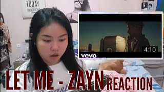 Download Lagu LET ME BY ZAYN MUSIC VIDEO REACTION | Donna Gido Gratis STAFABAND