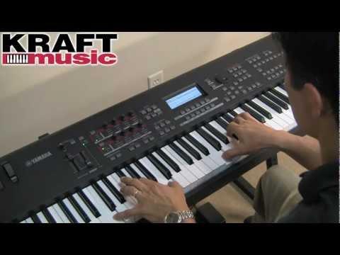 Kraft Music - Yamaha MOX8/MOX6 Demo with Tony Escueta
