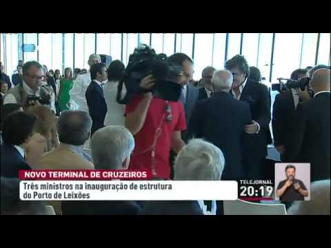 Abriu o novo terminal de cruzeiros do Porto de Leixões