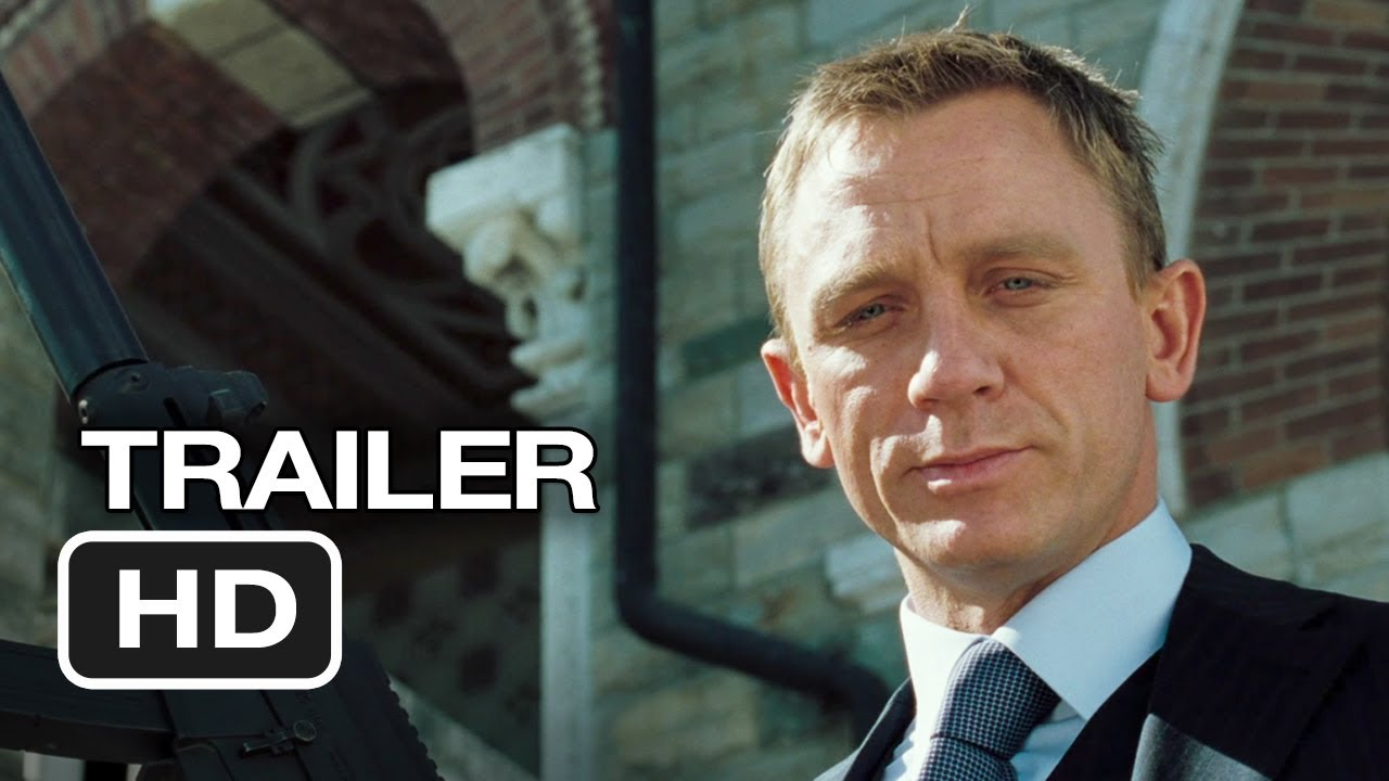 James Bond Blu-Ray Fifty Year Anniversary Collection Trailer (2012 ...