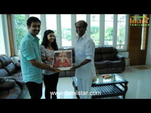 Super Star Rajini's Gift for Prasanna and Sneha