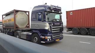 trucks, trucks, trucks, Rotterdam Waalhaven, 27 march 2014 part 2