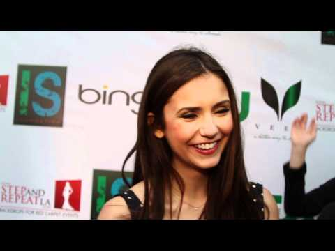 Nina Dobrev Interview - IS Foundation Event