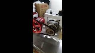 Máy rửa xe tự chế bằng motor máy giặt