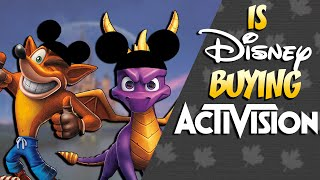 Is Disney Going to Buy Activision?