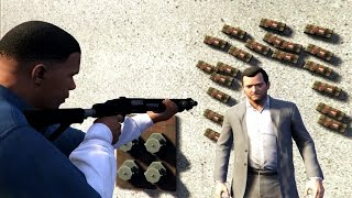 GTA 5 Franklin Kills Michael