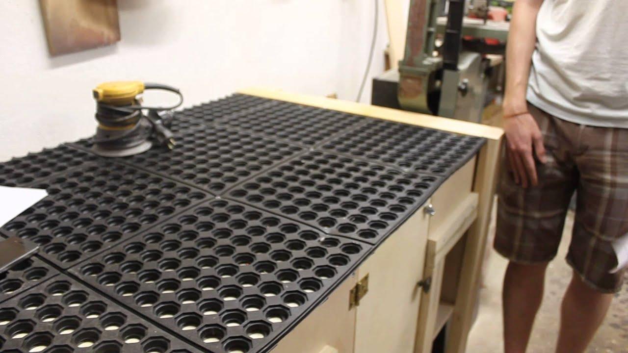 Comdowndraft Table Design : Downdraft table demonstration - YouTube