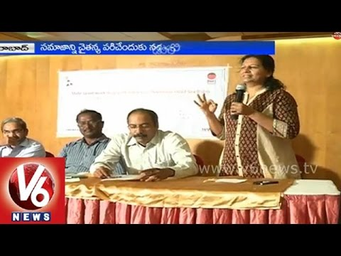 A state level workshop with media on declining Child Sex Ratio - Hyderabad
