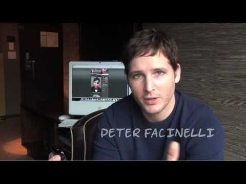Vampire Transformer iPhone app with Peter Facinelli
