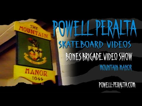 BONES BRIGADE VIDEO SHOW CH. 8 MOUNTAIN MANOR