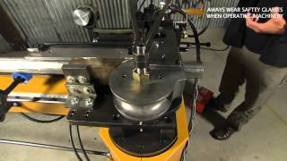 Baileigh MB-350 Mandrel Tube and Pipe Bender Exhaust Tubing Bending Machine