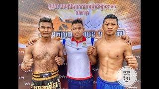 ម៉ឺន សុភា 🇰🇭 Vs 🇹🇭 Khamlaipetch (thai), Bayon kun khmer boxing 22-03-2019