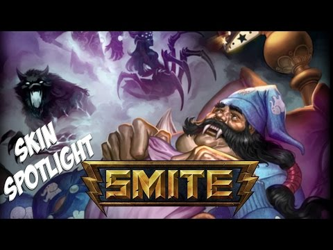 Smite - Skin Spotlights : Pajama Party Kumbhakarna *skin jokes taunts* video