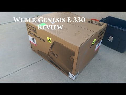 Weber Genesis E-330 Review and First Cook