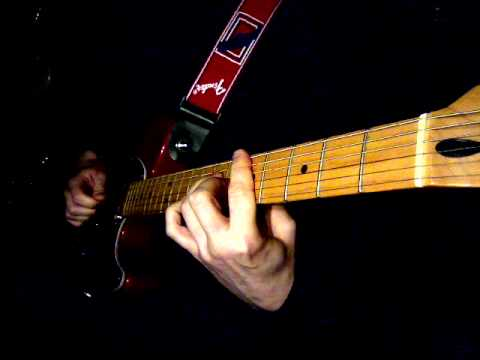 Rockabilly/country picking style (James Burton Telecaster)
