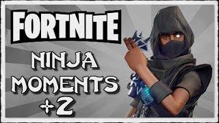 FORTNITE - NINJA MONTAGE! #2 (Funny & Epic, Trolling Noobs, Insane Sniper Shots & More)