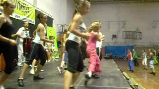 ZUMBA GYŐR-HUNGARY TEAM Party III. video 2012.05.27.