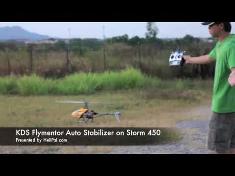 HeliPal.com - KDS Flymentor Auto Stabilizer Hovering Test