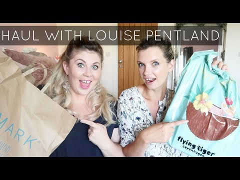 Thrilling Haul with Louise Pentland! | A Model Recommends