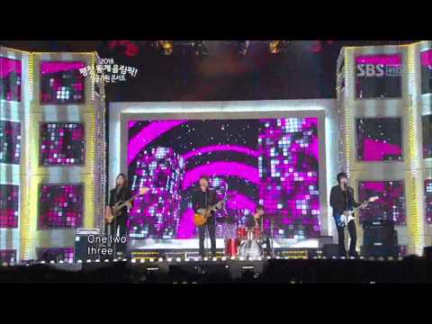 SBS 2018 평창 동계올림픽 성공기원 콘서트 (2012-01-22)  CNBLUE - 직감