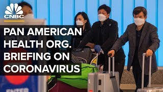 WATCH LIVE: Pan American Health Organization holds a briefing on coronavirus response – 3/6/2020