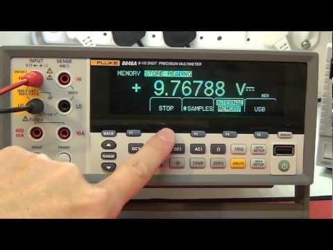 Multimeter Review / buyers guide:  Fluke 8846A / 8845A 6.5 Digit Precision Multimeter