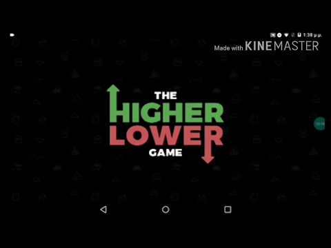 The higher lower game (pro gamers yolo) είμαι ο καλύτερος?!