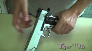 Army Metal R29 R30 GBB Pistol (Silver)