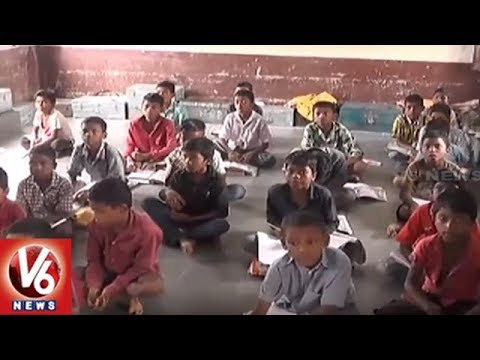 Adilabad District ITDA Schools & Hostel Students Boycott ST Community Teachers | V6 News