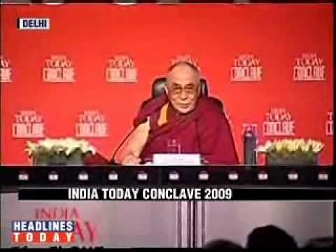 Dalai Lama speech at India Today Conclave 2009 part12