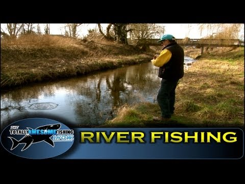 River fishing with Worms-  Ep.1- Series 3 - Totally Awesome Fishing
