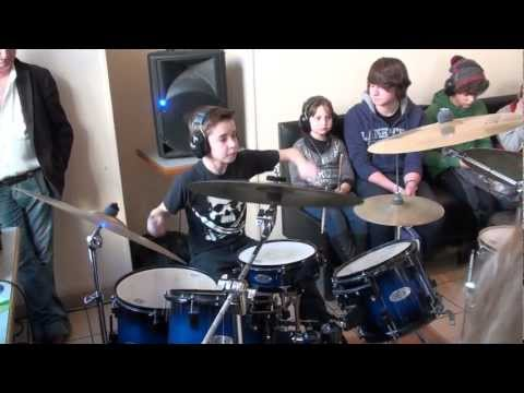 Shaka Ponk I'm picky Live drum cover