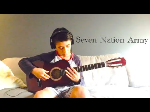 Seven Nation Army - (The White Stripes) Easy Guitar MP3