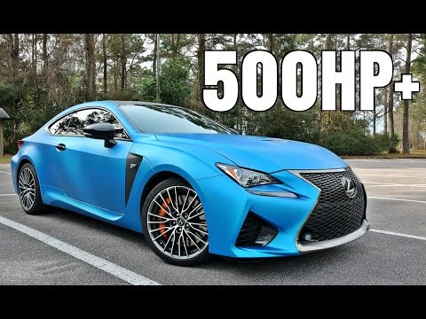 Modified 2016 Lexus RCF Driving Review