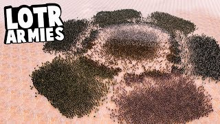 All Lord of the Rings Armies Fight Each Other - Who Wins? - Ultimate Epic Battle Simulator