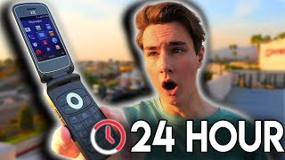 I Used A Burner Phone For 24 Hours