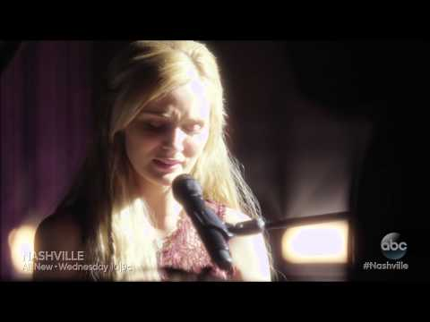 Nashville - Clare Bowen (Scarlett) sings Black Roses to her mother