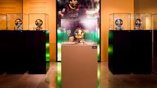 The Fifth Messi's ballon d'or in the Museum