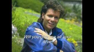 Cliff Richard -  If I Give My Heart To You -  with lyrics