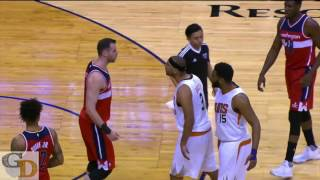 Jared Dudley Gets EJECTED FOR A HEAD BUTT