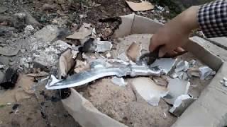 Tự Chế Kukri Knife Từ Nhôm (Kukri Knife making from aluminum)