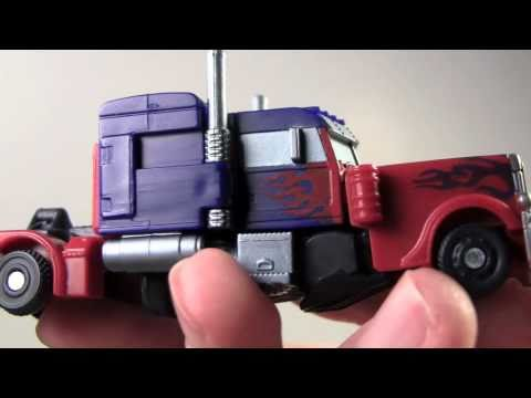Transformers 3 Dotm Movie Cyberverse Optimus Prime Preview Figure Review video