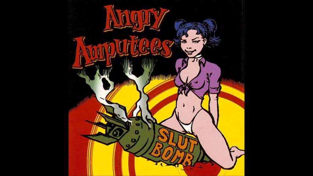 Angry amputees slut bomb