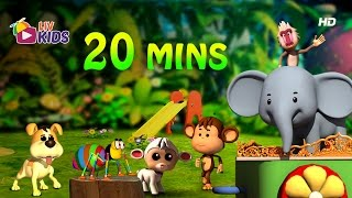 Popular 2017 English Rhymes | 20 mins compilation | LIV Kids Nursery Rhymes and Songs | HD
